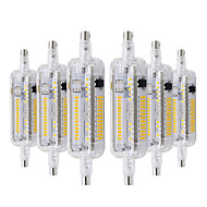 お買い得  LED コーン型電球-YWXLIGHT® 6本 6W 500-600lm R7S LEDコーン型電球 104 LEDビーズ SMD 3014 温白色 クールホワイト ナチュラルホワイト 110-130V 220-240V
