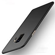 Недорогие Чехлы и кейсы для Galaxy S9 Plus-Кейс для Назначение SSamsung Galaxy S9 S9 Plus Ультратонкий Кейс на заднюю панель Сплошной цвет Твердый ПК для S9 Plus S9 S8 Plus S8 S7