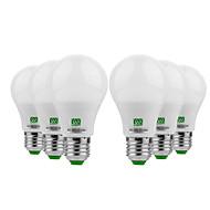 お買い得  LED ボール型電球-YWXLIGHT® 6本 5W 400-500lm E26 / E27 LEDボール型電球 10 LEDビーズ SMD 5730 温白色 クールホワイト 12-24V