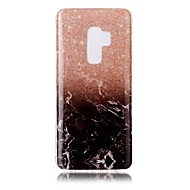 Недорогие Чехлы и кейсы для Galaxy S8 Plus-Кейс для Назначение SSamsung Galaxy S9 S9 Plus IMD Кейс на заднюю панель Мрамор Мягкий ТПУ для S9 Plus S9 S8 Plus S8 S7 edge S7 S6 edge S6