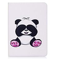 Недорогие Чехлы и кейсы для Samsung Tab-Кейс для Назначение SSamsung Galaxy Tab S2 9.7 Бумажник для карт Кошелек со стендом С узором Авто Режим сна / Пробуждение Чехол Панда