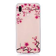 お買い得  携帯電話ケース-ケース 用途 Huawei P20 Pro / P20 lite IMD / クリア / パターン バックカバー フラワー ソフト TPU のために Huawei P20 / Huawei P20 Pro / Huawei P20 lite / P10 Plus / P10 Lite / P10