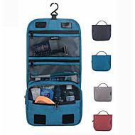 お買い得  トラベル小物-旅行用洗面道具バッグ 化粧ポーチ 防水 壁飾り 小物収納用バッグ ローラー付きスーツケース PVC PU トラベル