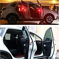 preiswerte Ausgefallene LED-Lichter-2pcs LED-Nachtlicht Rot Automatischer Wechsel Sicherheit Notfall LED-Autobirnen Autodekor Türlicht