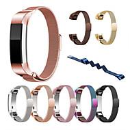 Недорогие Аксессуары для смарт-часов-Ремешок для часов для Fitbit Alta HR Fitbit Alta Fitbit Миланский ремешок Нержавеющая сталь Повязка на запястье