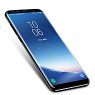 お買い得  Samsung 用スクリーンプロテクター-スクリーンプロテクター Samsung Galaxy のために S9 TPUヒドロゲル 1枚 スクリーンプロテクター 3Dラウンドカットエッジ 指紋防止 傷防止