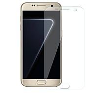 お買い得  Samsung 用スクリーンプロテクター-スクリーンプロテクター Samsung Galaxy のために S7 edge TPUヒドロゲル 1枚 スクリーンプロテクター 指紋防止 傷防止 ハイディフィニション(HD)