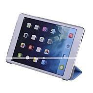 voordelige iPad-hoesjes/covers-hoesje Voor Apple iPad iPad Mini 4 iPad Mini 3/2/1 iPad 4/3/2 iPad Air 2 iPad Air met standaard Automatisch aan / uit Origami Volledig
