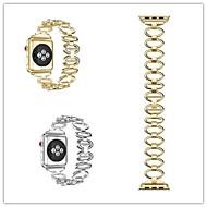Недорогие Аксессуары для смарт-часов-Ремешок для часов для Fitbit Blaze Fitbit Современная застежка Нержавеющая сталь Повязка на запястье