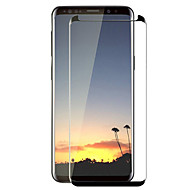 Недорогие Чехлы и кейсы для Galaxy S-Защитная плёнка для экрана Samsung Galaxy для S8 Закаленное стекло 1 ед. Защитная пленка на всё устройство 3D закругленные углы Защита от