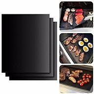 お買い得  キッチン用小物-ベークツール シリコーンゴム 多機能 / 耐熱の 野菜のための / 肉のための 長方形 ベイキングマット&ライナー 2pcs