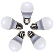 お買い得  LED ボール型電球-5個 4 W 360 lm E26 / E27 LEDボール型電球 G45 8 LEDビーズ SMD 2835 温白色 220-240 V