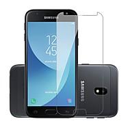 Недорогие Защитные пленки для Samsung-Защитная плёнка для экрана для Samsung Galaxy J3 Prime / J3 (2017) Закаленное стекло 1 ед. Защитная пленка для экрана Уровень защиты 9H / Защита от царапин
