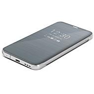 お買い得  携帯電話ケース-ケース 用途 LG G6 ミラー フリップ 超薄型 フルボディーケース ソリッド ハード PUレザー のために LG G6