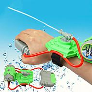 abordables Juguetes de Exterior-Mini Wrist Squirt Water Gun Aspersores Tema Playa Alivio del estrés y la ansiedad Interacción padre-hijo Carcasa de plástico Regalo 1pcs