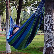 abordables Muebles de Acampada-Hamaca para camping Al aire libre Transpirabilidad Tela no tejida para Senderismo / Camping / Trail - 1 Persona Azul Oscuro / Fucsia