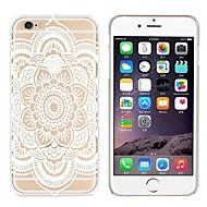 Недорогие Кейсы для iPhone 8 Plus-Кейс для Назначение Apple iPhone 8 iPhone 7 С узором Кейс на заднюю панель Мандала Кружева Печать Мягкий ТПУ для iPhone 8 Pluss iPhone 8