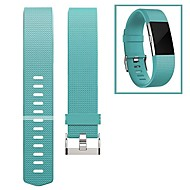 cheap Watch Bands for Fitbit-Watch Band for Fitbit Charge 2 Fitbit Modern Buckle Fluoroelastomer Wrist Strap