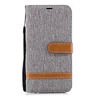 Kılıf Na Huawei P20 / P20 lite Portfel / Etui na karty / Z podpórką Pełne etui Solidne kolory Twardość Skóra PU na Huawei P20 / Huawei P20 Lite / P10 Plus / P10 Lite