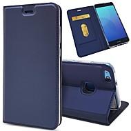 preiswerte Handyhüllen-Hülle Für Huawei P20 / P20 lite Geldbeutel / Kreditkartenfächer / Flipbare Hülle Ganzkörper-Gehäuse Solide Hart PU-Leder für Huawei P20 / Huawei P20 lite / P10 Plus