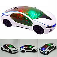 LED-valaistus Ajoneuvot Auto Kiilto erinomainen Pehmeä muovi Lasten Unisex Lelut Lahja 1 pcs