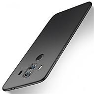 お買い得  携帯電話ケース-ケース 用途 Huawei Mate 10 pro / Mate 10 lite 耐衝撃 / つや消し バックカバー ソリッド ハード PC のために Mate 10 / Mate 10 pro / Mate 10 lite / Mate 9 Pro