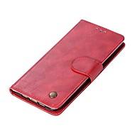 お買い得  携帯電話ケース-ケース 用途 Xiaomi Mi 6 Mi 5s カードホルダー ウォレット フリップ 磁石バックル フルボディーケース ソリッド ハード PUレザー のために Xiaomi Mi 6 Xiaomi Mi 5X Xiaomi Mi 5s