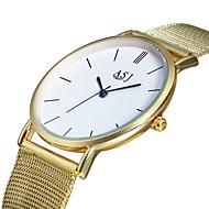 billige -ASJ Dame Quartz Armbåndsur Kinesisk Hverdagsklokke Legering Band Luksus Mote Gylden