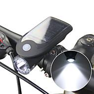 preiswerte Taschenlampen, Laternen & Lichter-Fahrradlicht LED Radlichter Radsport Wasserfest, Mehrere Modi Li-Ionen 240 lm Solarbetrieben / USB angetrieben Camping / Wandern / Erkundungen / Radsport / ABS