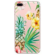 cheap -Case For Apple iPhone X iPhone 8 Pattern Back Cover Flower Soft TPU for iPhone X iPhone 8 Plus iPhone 8 iPhone 7 Plus iPhone 7 iPhone 6s