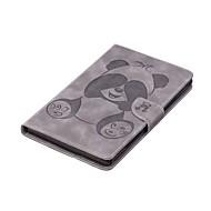 preiswerte Tablet Zubehör-Hülle Für Amazon Kindle Fire 7(5th Generation, 2015 Release) Kreditkartenfächer Geldbeutel mit Halterung Muster Ganzkörper-Gehäuse Panda