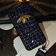Недорогие Кейсы для iPhone 8 Plus-Кейс для Назначение Apple iPhone X iPhone 7 Plus С узором Кейс на заднюю панель Сияние и блеск Мягкий ТПУ для iPhone X iPhone 8 Pluss