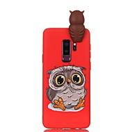 Недорогие Чехлы и кейсы для Galaxy S-Кейс для Назначение SSamsung Galaxy S9 S9 Plus С узором Своими руками Кейс на заднюю панель Сова Мягкий ТПУ для S9 Plus S9 S8 Plus S8 S7