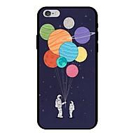 Недорогие Кейсы для iPhone 8 Plus-Кейс для Назначение Apple iPhone X / iPhone 8 С узором Кейс на заднюю панель Воздушные шары Мягкий ТПУ для iPhone X / iPhone 8 Pluss / iPhone 8