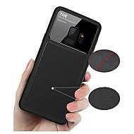 Недорогие Чехлы и кейсы для Galaxy S-Кейс для Назначение SSamsung Galaxy S9 S9 Plus Защита от удара Зеркальная поверхность Кейс на заднюю панель Однотонный Мягкий ТПУ для S9