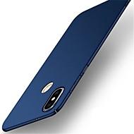 お買い得  携帯電話ケース-ケース 用途 Xiaomi Redmi Note 5 Pro 超薄型 つや消し バックカバー ソリッド ハード PC のために Xiaomi Redmi 5 Xiaomi Redmi 5 Plus Redmi 5A