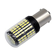 Недорогие Внешние огни для авто-SO.K 2pcs 1156 Мотоцикл / Автомобиль Лампы 6 W SMD 3014 600 lm 144 Светодиодная лампа Фары дневного света / Лампа поворотного сигнала / Мотоцикл For Универсальный Все года