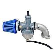 abordables Piezas de Moto y de Quad-Filtro de aire del sello de aceite del colector del pz26 para yx 125cc lifan 110cc carburo de la bici del agujero de la suciedad del atv 26cc