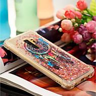 Недорогие Чехлы и кейсы для Galaxy S8-Кейс для Назначение SSamsung Galaxy S9 Plus / S9 Защита от удара / Движущаяся жидкость / С узором Кейс на заднюю панель Ловец снов Мягкий