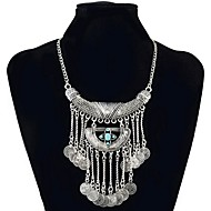 cheap -Women's Synthetic Tanzanite Statement Necklace  -  Vintage / Statement / Fashion Black / Dark Green 46cm Necklace For Ceremony / Evening
