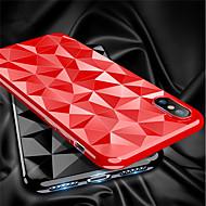 Недорогие Кейсы для iPhone 8 Plus-Кейс для Назначение Apple iPhone X / iPhone 8 Ультратонкий Кейс на заднюю панель Однотонный Мягкий ТПУ для iPhone X / iPhone 8 Pluss /