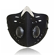 baratos Roupa Esportiva-Máscara Facial Todas as Estações A Prova de Vento / Á Prova-de-Pó / Respirável Ciclismo / Moto / Viagem / Moto Unisexo SBR Côr Sólida