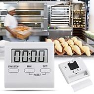 お買い得  キッチン用小物-キッチンツール プラスチック ミニ / クリエイティブキッチンガジェット 日常使用 キッチンタイマー 1個