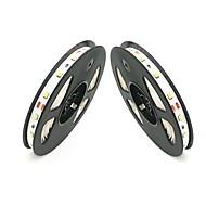abordables Tiras de Luces LED-ZDM® 2x5M Cuerdas de Luces 300 LED Blanco Cálido / Blanco Fresco / Verde Cortable / Auto-Adhesivas 12V 2pcs