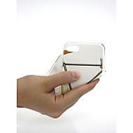 Недорогие Кейсы для iPhone 8-Кейс для Назначение Apple iPhone X / iPhone 7 Ультратонкий / С узором / Милый Кейс на заднюю панель Геометрический рисунок / Мрамор Мягкий