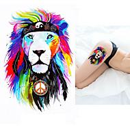 cheap Temporary Tattoos-5 pcs Tattoo Stickers Temporary Tattoos Animal Series Body Arts Wrist