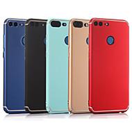 お買い得  携帯電話ケース-ケース 用途 Huawei Honor 9 Lite / Honor 7X つや消し バックカバー ソリッド ハード PC のために Huawei Honor 9 Lite / Honor 9 / Honor 8