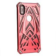 Недорогие Кейсы для iPhone 8 Plus-Кейс для Назначение Apple iPhone X / iPhone 8 Plus Защита от удара Кейс на заднюю панель броня Твердый ПК для iPhone X / iPhone 8 Pluss /