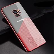 Недорогие Чехлы и кейсы для Galaxy S9-Кейс для Назначение SSamsung Galaxy S9 Plus / S9 Покрытие / Ультратонкий / Прозрачный Кейс на заднюю панель Полосы / волосы Мягкий ТПУ для S9 / S9 Plus