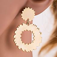 cheap -Women's Donuts Hoop Earrings - Classic / Sexy / European Gold / Silver Gear Earrings For Daily / Office & Career / Women's